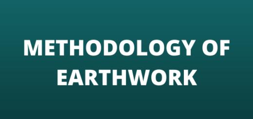 Methodology of Earthwork